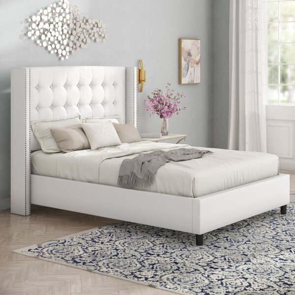 Doleman Upholstered Standard Bed by Willa Arlo Interiors Willa Arlo Interiors