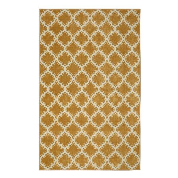 Latimer Beige Area Rug by Alcott Hill