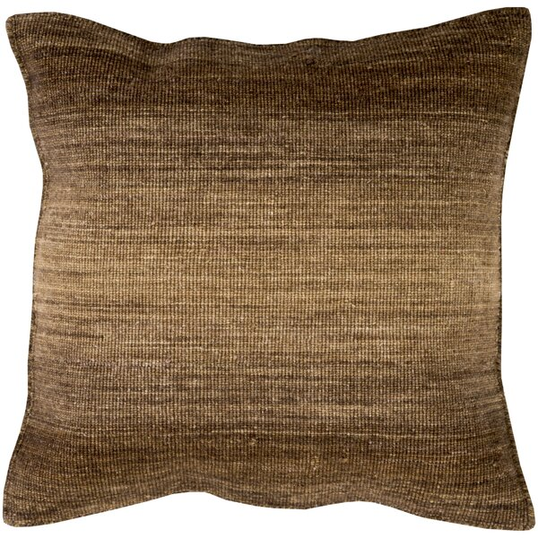 Cortes Wool Throw Pillow by Williston Forge