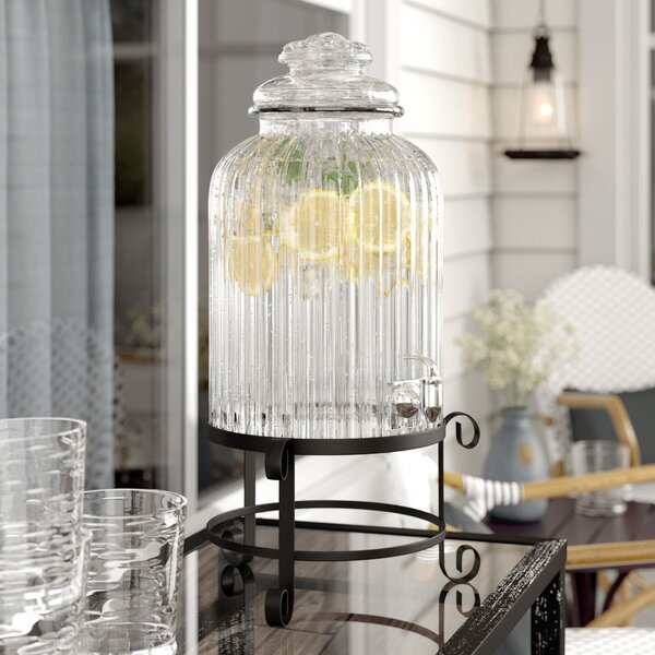 Fitzpatrick Beverage Dispenser by Charlton Home