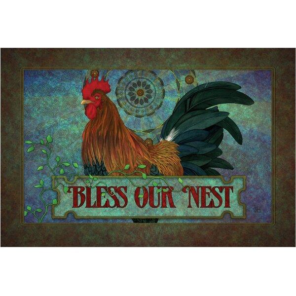 Klyszejko Bless Our Nest Doormat by August Grove