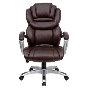 Personalized Genuine Leather Executive Chair