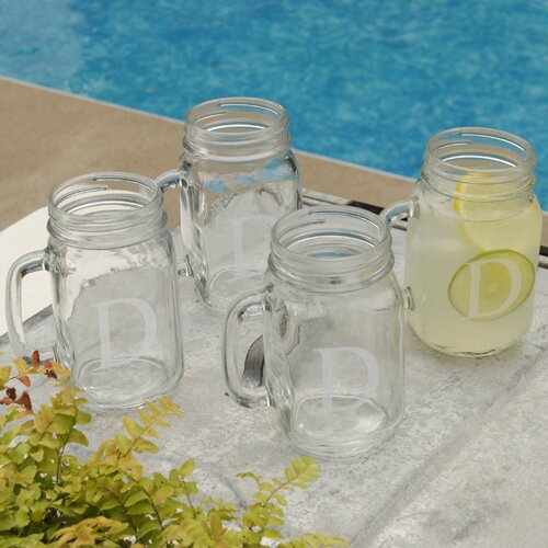 Personalized Gift Classic Glass Jar (Set of 4) by JDS Personalized Gifts