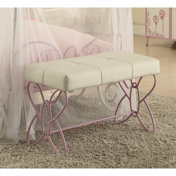 Janiyah Upholstered Bench By Harriet Bee