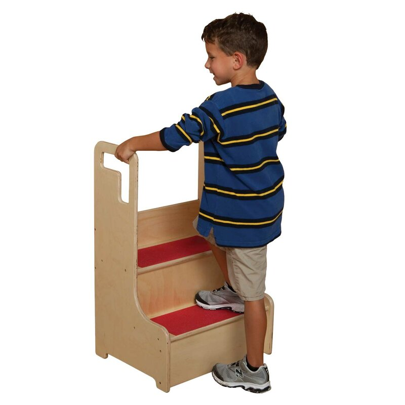 Healthy Kids Step Stool  sc 1 st  Wayfair & Wood Designs Healthy Kids Step Stool u0026 Reviews | Wayfair islam-shia.org
