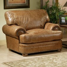Houston Leather Chair And Half by Omnia Leather