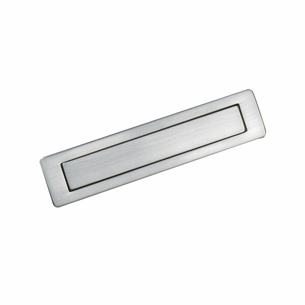 Contemporary Recessed Metal Pull  5 13/16