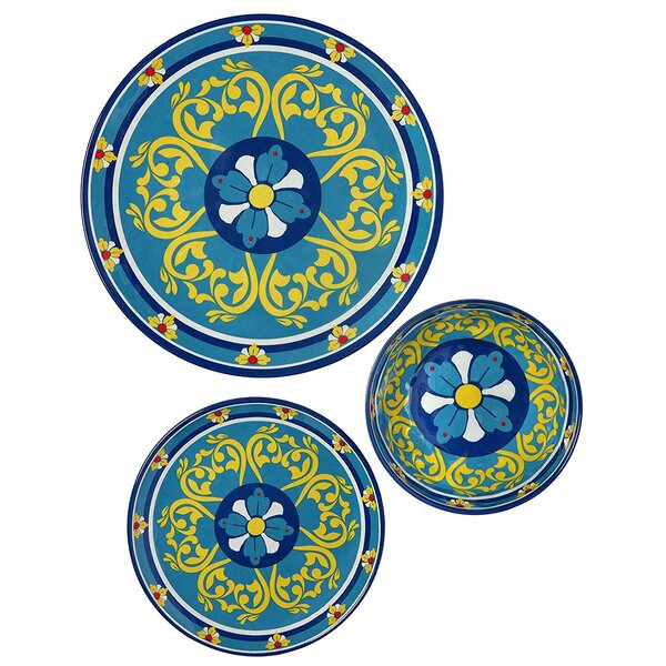 Sari 36 Piece Dinnerware Set, Service for 12 (Set of 12) by Bloomsbury Market