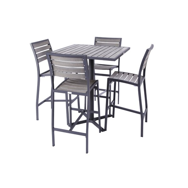 Mason 5 Piece Bar Height Dining Set by Madbury Road