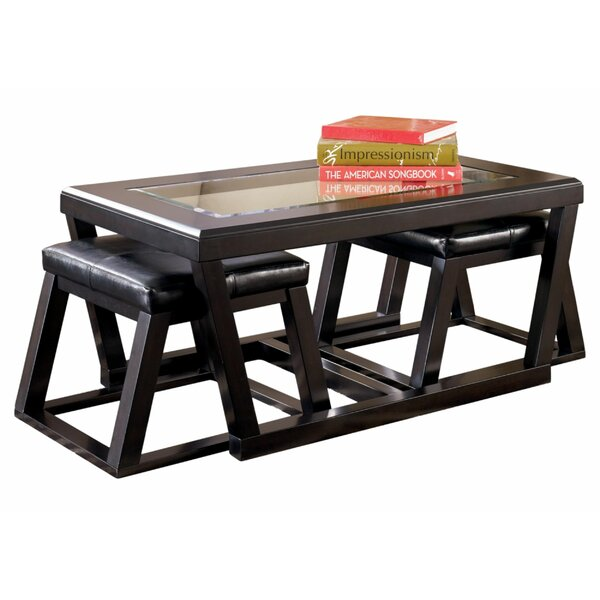 Kowalewski Sled Coffee Table By Millwood Pines