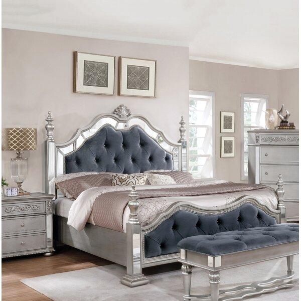 Nicolasa Upholstered Standard Bed by Rosdorf Park