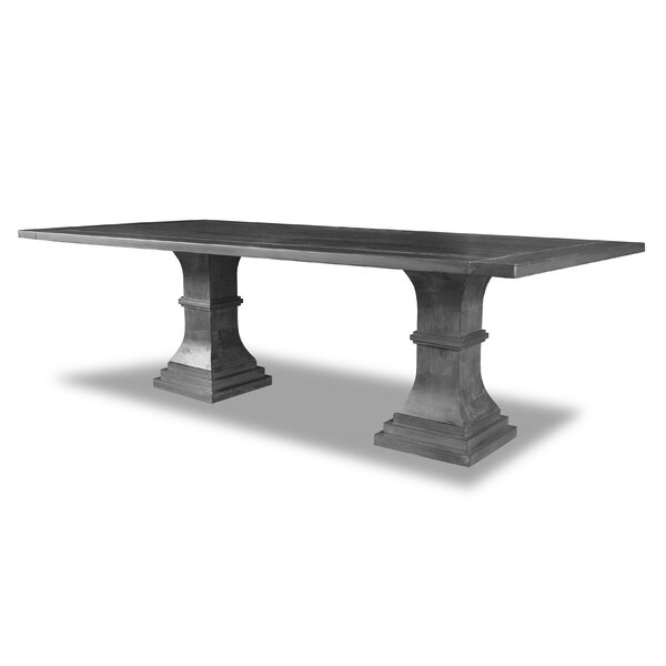 Pascarella Solid Wood Dining Table by Gracie Oaks