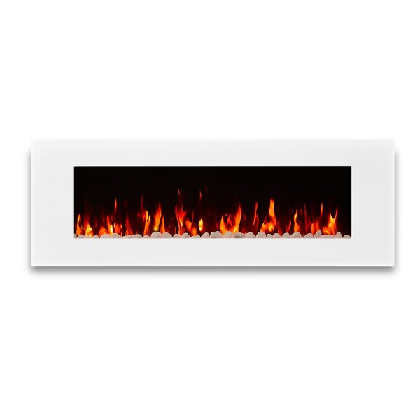 DiNatale Wall Mounted Electric Fireplace by Real Flame