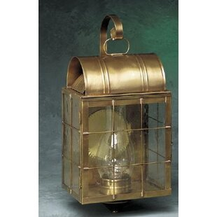 Affordable Price Xzavier 1-Light Outdoor Wall Lantern By Breakwater Bay