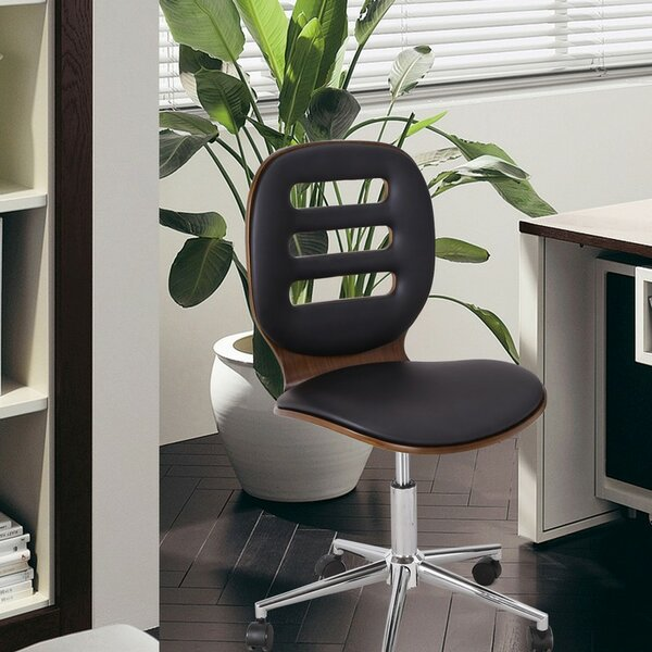 Mid-Back Desk Chair by Adeco Trading