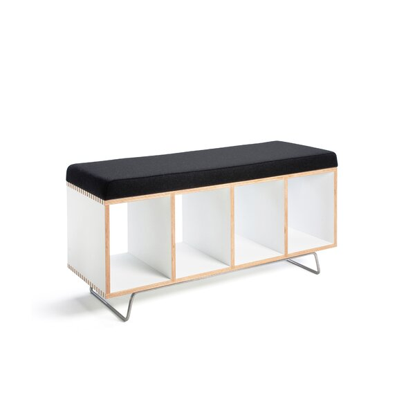 Wood Storage Bench by Offi Offi