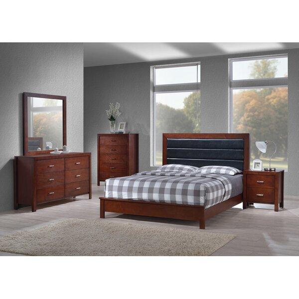 Vandermark Panel 6 Piece Bedroom Set by Latitude Run