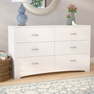 Poulson 6 Drawer Double Dresser by Andover Mills