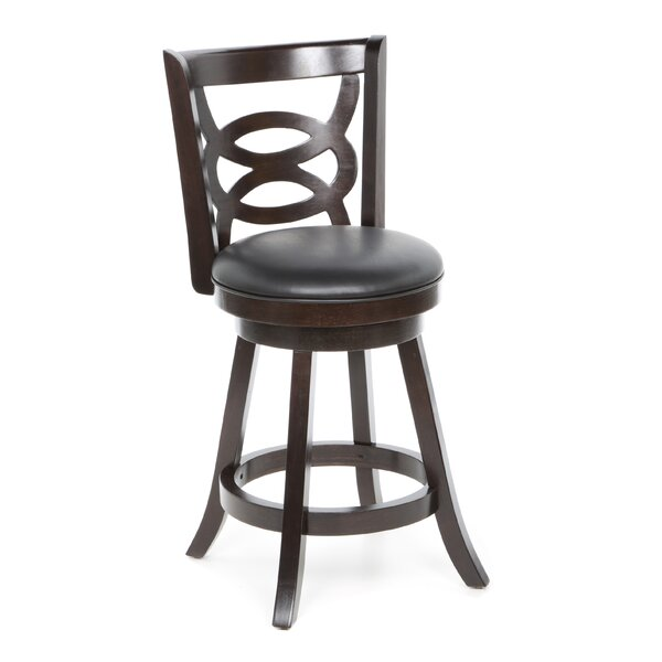 Blevice 24 Swivel Bar Stool (Set of 2) by Latitude Run