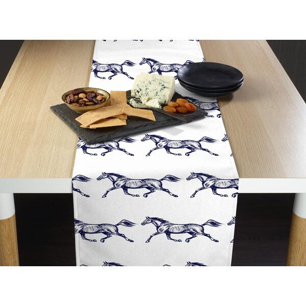 Stromberg Galloping Horses Table Runner by Millwood Pines