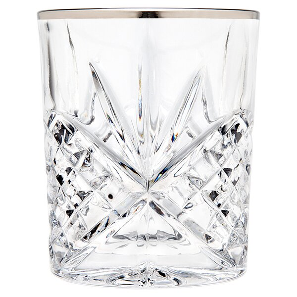 Dublin 8 oz. Crystal Highball Glass (Set of 4) by Godinger Silver Art Co