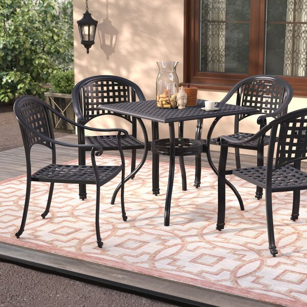 Desirae 5 Piece Seating Group by World Menagerie