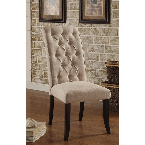 Darcy Upholstered Dining Chair (Set of 2) by Alcott Hill