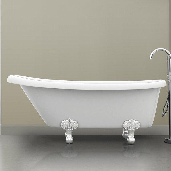 Monroe 67 x 26.3 Claw Foot Bathtub by Ancona