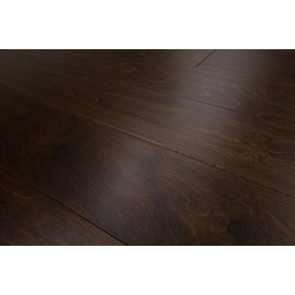 Bern 5 Engineered Birch Hardwood Flooring in Dark Chocolate by Branton Flooring Collection