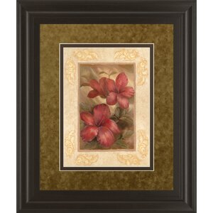 Daphne's Hibiscus by Vivian Flasch Framed Painting Print by Classy Art Wholesalers