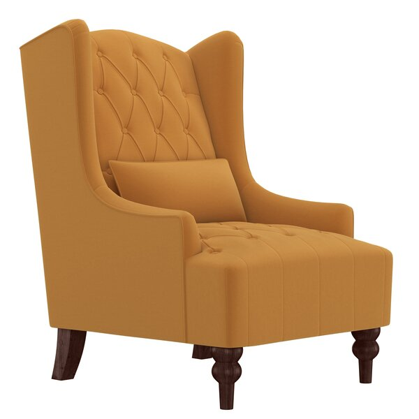 Prinsburg Wingback Chair by Canora Grey