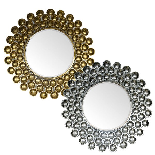 Lower Hounsley Metal Accent Mirror (Set of 2) by Brayden Studio