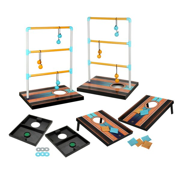 Triple Play 3 in 1 Toss Game Set by Hathaway Games