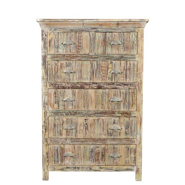 Desirae 6 Drawers Standard Dresser Chest by Bloomsbury Market