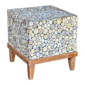 Analia End Table by Highland Dunes