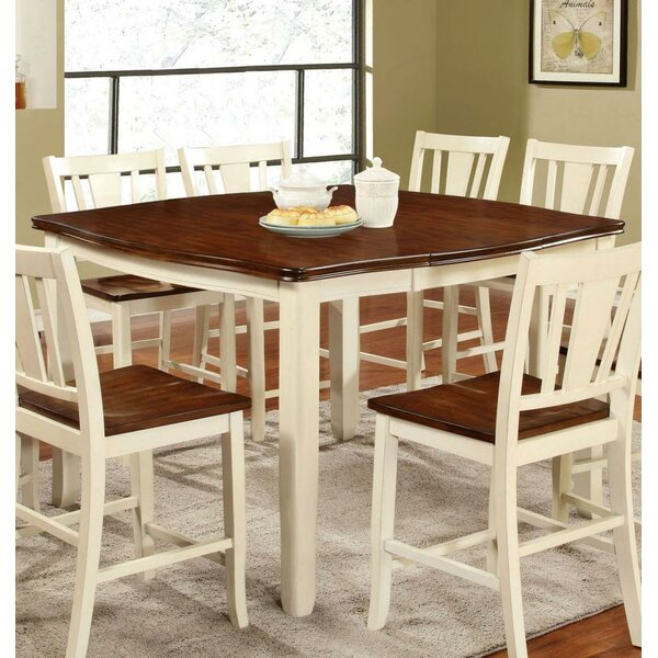 Ivy Hill Counter Height Solid Wood Dining Table by August Grove August Grove®