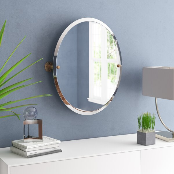 Bayer Frameless Oval Bathroom / Vanity Mirror