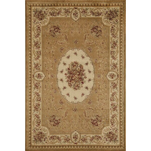 Berghoff Cream Area Rug by Threadbind