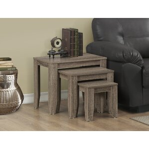 3 Piece Nesting Tables by Monarch Specialtie..