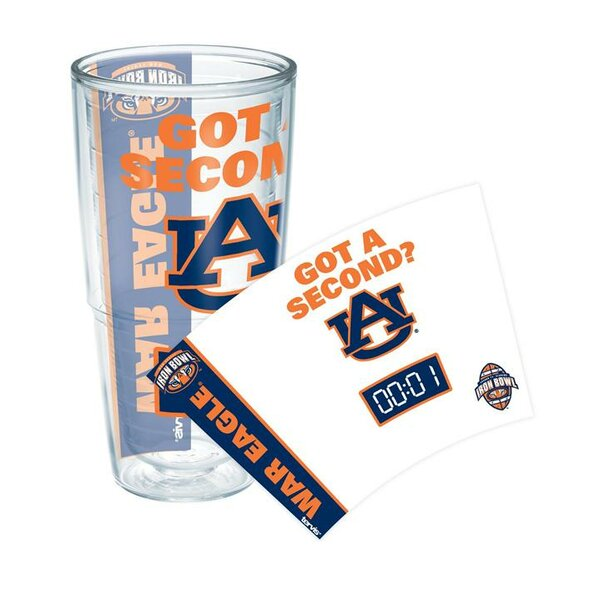 Collegiate Auburn Iron Bowl 24 oz. Plastic Every Day Glass by Tervis Tumbler