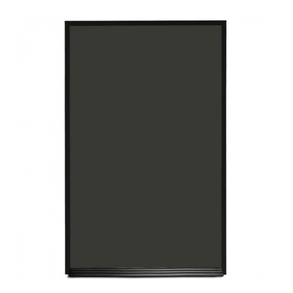 Portrait with Ledge Magnetic Chalkboard by New York Blackboard