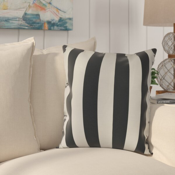 Westfield Stripe Throw Pillow by Beachcrest Home