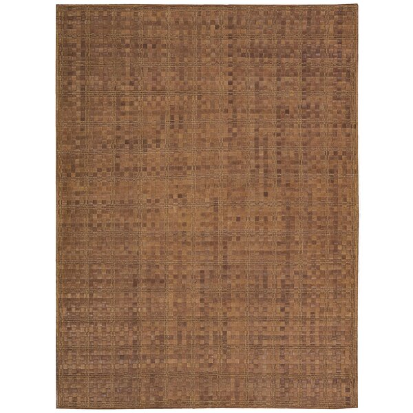Equestrian Hand-Woven Saddle Area Rug by Barclay Butera Lifestyle