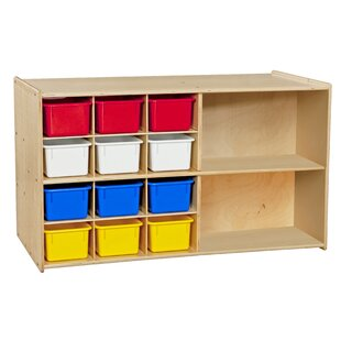 Compare prices Contender Double 14 Compartment Cubby By Wood Designs