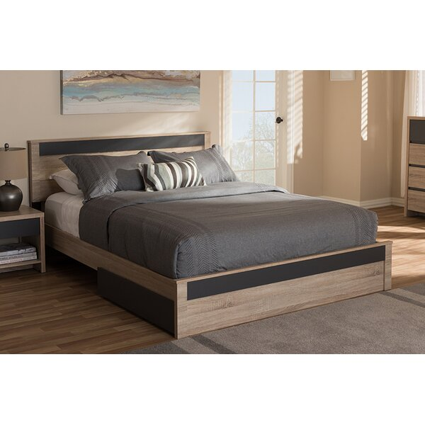 Nord Queen Upholstered Storage Platform Bed by Latitude Run