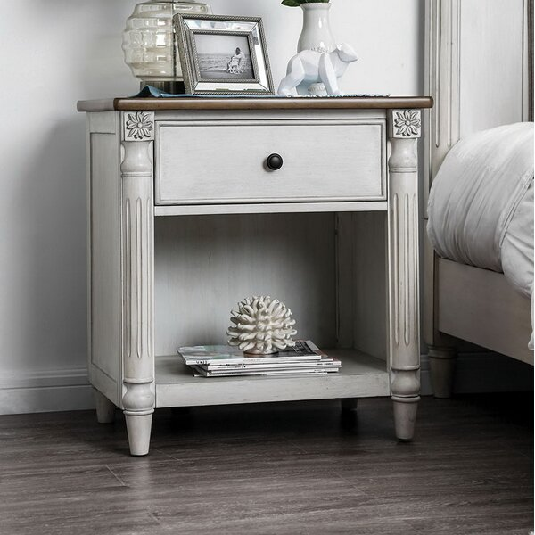 Wawona 1 Drawer Nightstand by Ophelia & Co.