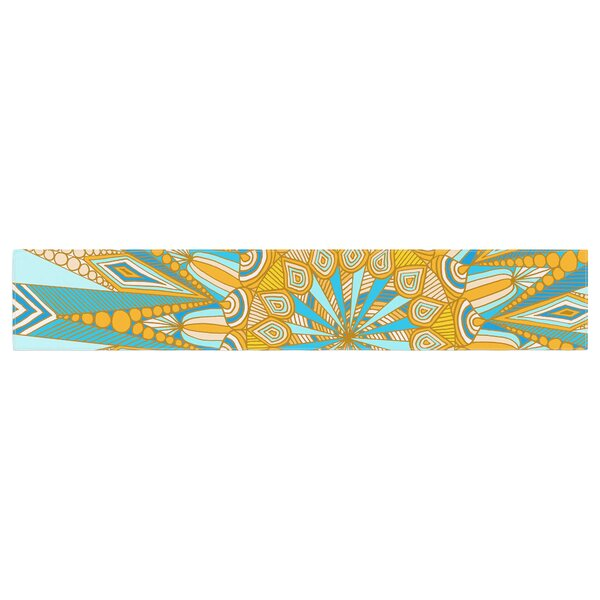 Art Love Passion Here Comes the Sun Table Runner by East Urban Home