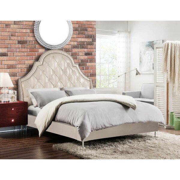 Napoleon Upholstered Standard Bed by Iconic Home