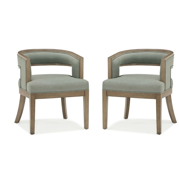 Review Ashtyn Barrel Chair (Set Of 2)