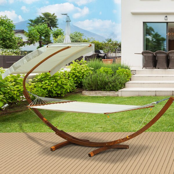 Derek Double Hammock with Stand by Freeport Park